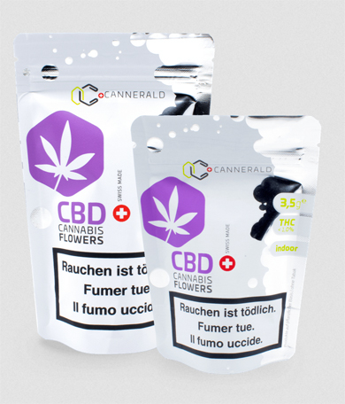 Cannerald / CannerGrow - CBD Cannabis Flowers
